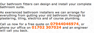 Bthroom Fitters Ashingdon