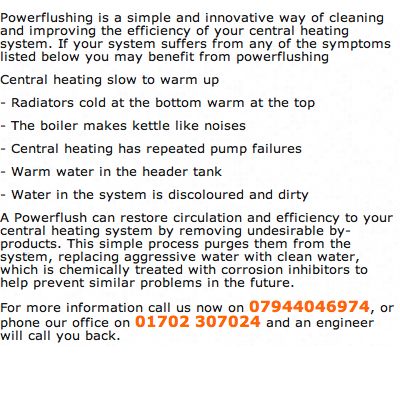 Powerflushing Hawkwell